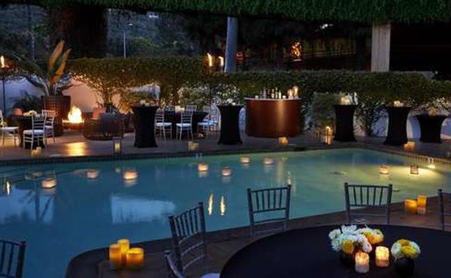 Outdoor Seating Hotel La Jolla