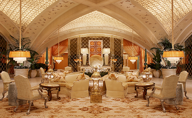 The Spa Encore at the Wynn in Las Vegas